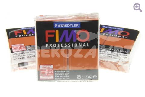 Полимерная глина Fimo Professional терракота, 85гр СТАРЫЙ ПРИХОД