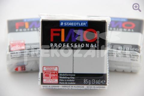 Полимерная глина Fimo Professional серый дельфин, 85гр СТАРЫЙ ПРИХОД
