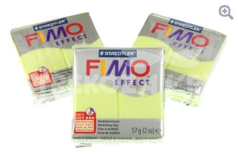 Полимерная глина Fimo Effect цитрин, 56гр