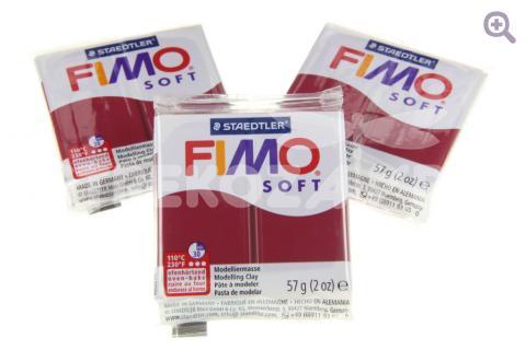 Полимерная глина Fimo Soft мерло, 56гр
