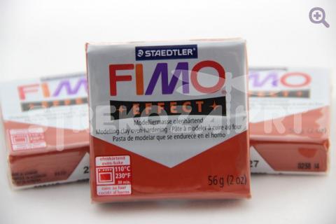 Полимерная глина Fimo Effect медный, 56гр