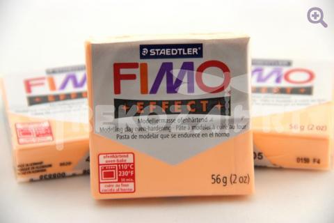 Полимерная глина Fimo Effect персик, 56гр