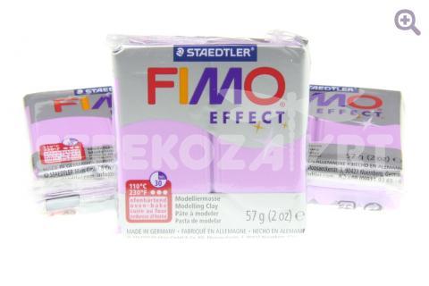 Полимерная глина Fimo Effect перламутровый лиловый, 56гр