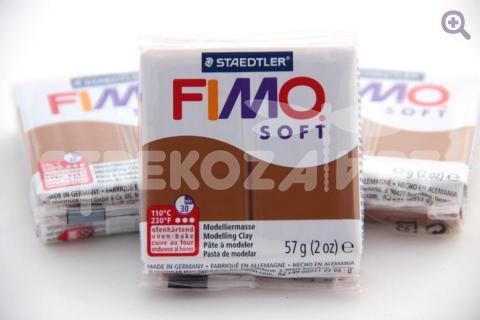 Полимерная глина Fimo Soft карамельный, 57гр СТАРЫЙ ПРИХОД