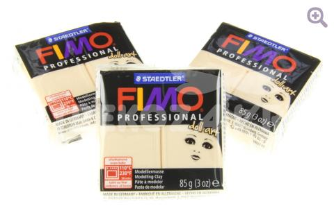 Полимерная глина Fimo Professional doll art  непрозрачная камея, 85гр