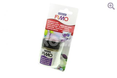 Лак на водной основе Fimo, полуматовый, 35мл