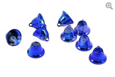 Колокольчик 18мм, цвет: синий