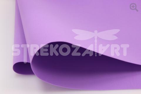УЦЕНКА: Фоамиран (Иран) 60*70см, цвет: лиловый
