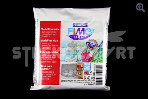 Полимерная глина Fimo Air light Microwave самозатвердевающая на воздухе, белый, 125гр
